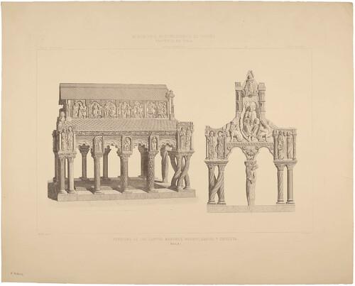 Ávila. Sepulcro de los santos mártires Vicente, Sabina y Cristeta