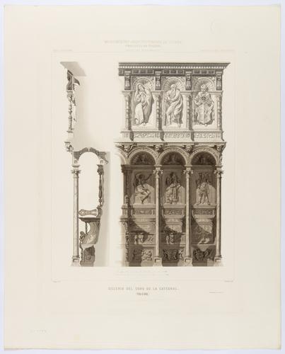 Toledo. Sillería del coro de la Catedral