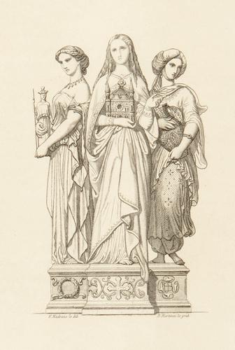 Alegoría de los tres artes: pagano, cristiano y mahometano