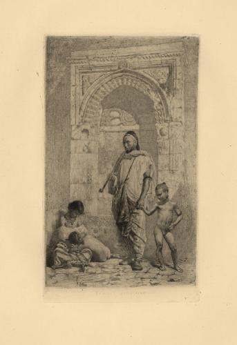 Famille marocaine [Familia marroquí]