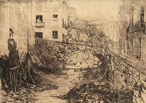 Granada. El río Darro
