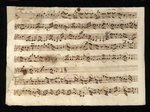 Trio a duo Violino e Basso [Música manuscrita] / del signre. Luis Boquerini de Luca